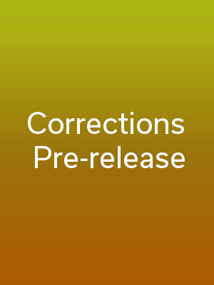 Corrections / Pre-release